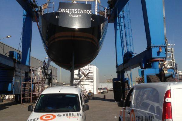 Pro Sailing | Boat construction and refit | Construcción y reparación de barcos Tarragona